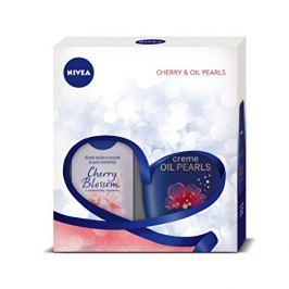 Nivea Body Cherry tělové mléko 200 ml + sprchový gel 250 ml dárková sada