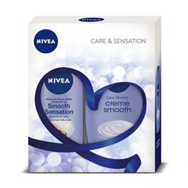 Nivea Body Smooth tělové mléko 250 ml + sprchový gel 250 ml dárková sada