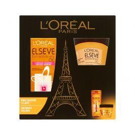 Loreal Paris Elseve Extraordinary Oil vyživující šampon 250 ml + vyživující maska 300 ml dárková sada