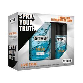 STR8 Live True voda po holení 100 ml + deospray 150 ml dárková sada