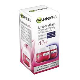 Garnier Dárková sada denního a nočního krému proti vráskám 45+ Essentials (Anti-Wrinkle Day & Night Cream) 2 x 50 ml