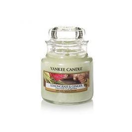Yankee Candle Vonná svíčka Classic malý Citrónová tráva a zázvor (Lemongrass & Ginger) 104 g