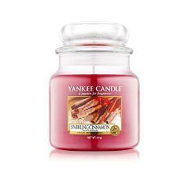 Yankee Candle Vonná svíčka Classic střední Třpytivá skořice (Sparkling Cinnamon) 411 g