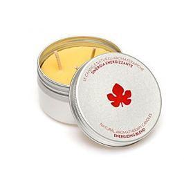 Biofficina Toscana Přírodní aromaterapeutická svíčka s energizující vůní (Energising Blend Candle) 100 g - SLEVA - pomačkaný obal
