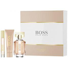 Hugo Boss Boss The Scent For Her - EDP 50 ml + EDP 7,4 ml + tělové mléko 50 ml - SLEVA - chybí cca 1 ml EDP
