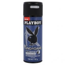 Playboy King of the Game For Him 150 ml deodorant deospray pro muže