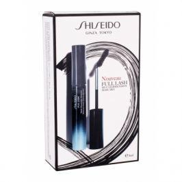 Shiseido Full Lash Multi-Dimension dárková kazeta pro ženy řasenka 8 ml + rtěnka Rouge Rouge 2,5 g RD501 Ruby Copper + make-up Synchro Skin Glow 1 ml 3 Neutral BK901 Black