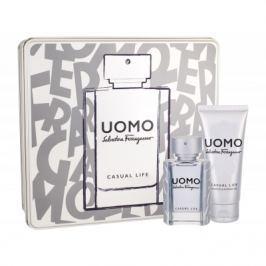 Salvatore Ferragamo Uomo Casual Life dárková kazeta pro muže toaletní voda 50 ml + sprchový gel 100 ml