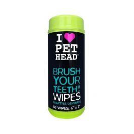 PET head UBROUSKY na čištění zubů - 50ks
