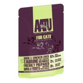 AATU cat kapsa DUCK / CHICKEN liver - 85g
