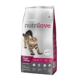 NUTRILOVE cat ADULT - KUŘECÍ 1,5kg