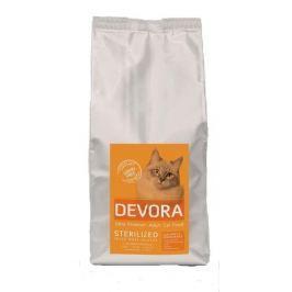 DEVORA cat GF STERILISED krůta/kuře/sleď - 400g