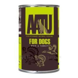 AATU dog konz. DUCK / TURKEY - 400g