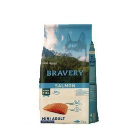 BRAVERY dog ADULT mini SALMON - 2 kg