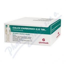 CALCII CARBONICI 0,5 TBL. MEDICAMENTA 0,5G TBL NOB 100