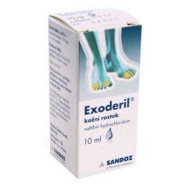 EXODERIL 10MG/ML DRM SOL 1X10ML