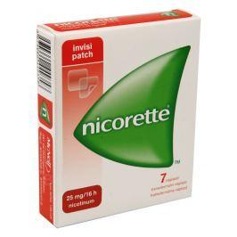 NICORETTE INVISIPATCH 25MG/16H TDR EMP 7