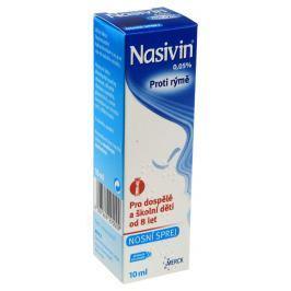 NASIVIN 0,05% 0,5MG/ML NAS SPR SOL 10ML-SK