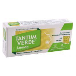 TANTUM VERDE LEMON 3MG PAS 20