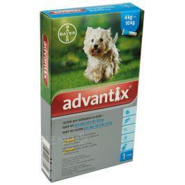 Advantix pro psy od 4-10kg spot-on a.u.v.1x1ml