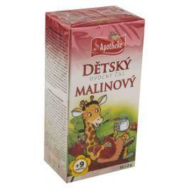 Apotheke Dětský ovocný čaj malinový 20x2g