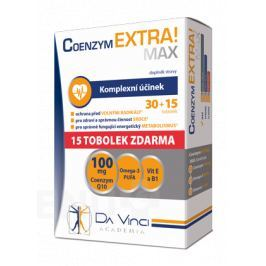Coenzym EXTRA! Max 100mg DVA tob.30+15ZDARMA