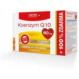 Cemio Koenzym Q10 60mg biotin cps.30+30 Doplňky stravy pro sportovce