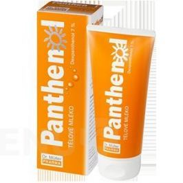 Dr. Müller Panthenol tělové mléko 7% 200 ml