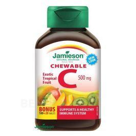 JAMIESON Vitamin C 500mg tr.ovoce cucací tbl. 120