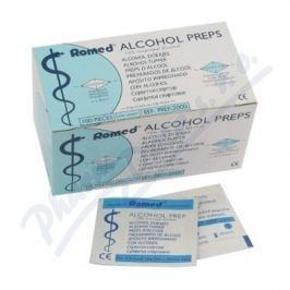 Alcohol Preps dezinfekční tampony - čtverečky100ks