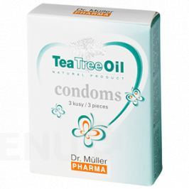 Tea Tree Oil kondomy 3ks Dr.Müller