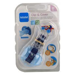 MAM Pásek na dudlík s krytkou Clip & Cover 0+m 1ks