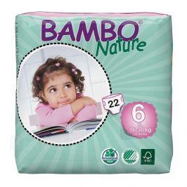 KALHOTKY ABSORPČNÍ DĚTSKÉ BAMBO NATURE XL 16-30KG,1200ML,SUCHÝ ZIP,22KS