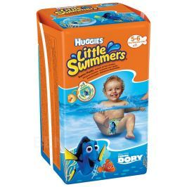 Huggies Little Swimmers vel.5-6 12-18kg 11ks do vody