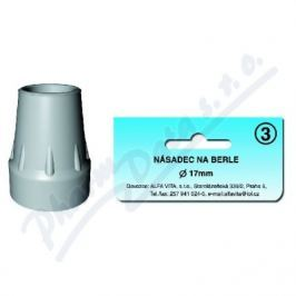 Násadec na berle ALFA č.3 17mm