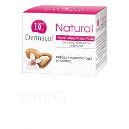 Dermacol Natural Výživný mandlový noční krém 50ml Péče o pleť