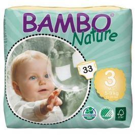 BAMBO Nature Midi plen.k. 5-9kg 33ks Dětské pleny