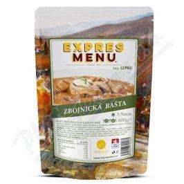 EXPRES MENU Zbojnická bašta 2 porce Ostatní zdravá výživa