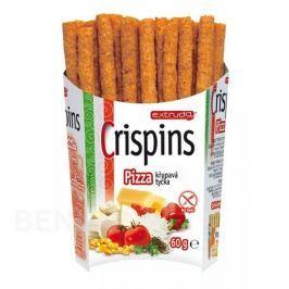 Crispins tyčka pizza 60g Bezlepkové tyčinky a sušenky
