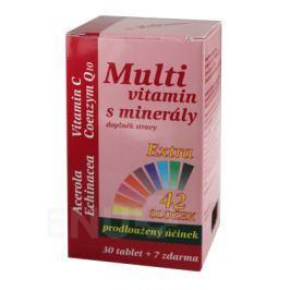 MedPharma Multivitamín s minerály+extra C tbl.37 Multivitamíny