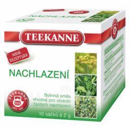 TEEKANNE Nachlazení bylinný čaj n.s.10x2g Chřipka a nachlazení