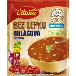 Bez lepku Gulášová polévka 60g Polévky