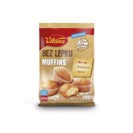 Bez lepku Muffins Vitana 280g