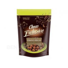 Lísková jádra v mléčné čokoládě 175g Pochutiny
