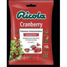 RICOLA Cranberry-brusinky 75g