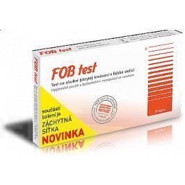 FOB test na okultní krvácení v lidské stolici Ostatní zdravotnické pomůcky