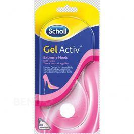 Scholl GelActiv vložky pro Extrémně vysok.podpatky Ortopedické vložky do bot