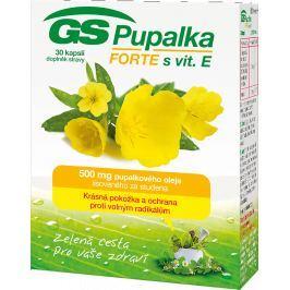 GS Pupalka Forte s vitaminem E cps.30 2016 Vlasy, kůže, nehty