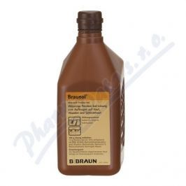 BRAUNOL 75MG/G DRM SOL 1X1000ML Léky na popáleniny a opruzeniny