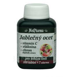MedPharma Jablečný ocet+vlák.+vit.C+chrom tbl.107 Přípravky a prášky na hubnutí